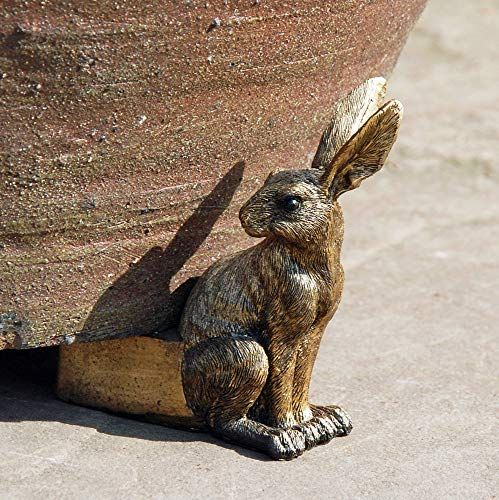Classical Set of three hare plant stands