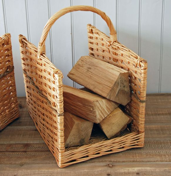 Small Petworth Willow Weave Log Basket